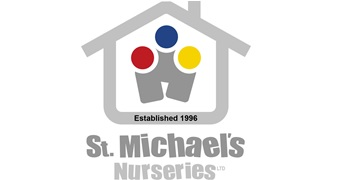 St Michael's Nurseries logo