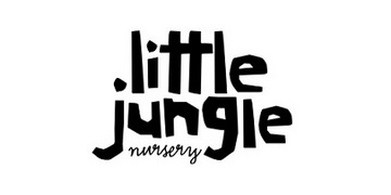 Little Jungle Nursery. logo