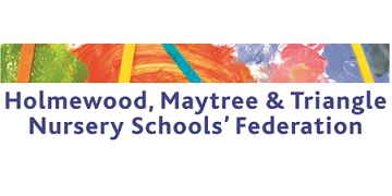 Holmewood, Maytree and Triangle Nursery Schools' Federation logo
