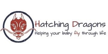 Hatching Dragons. logo