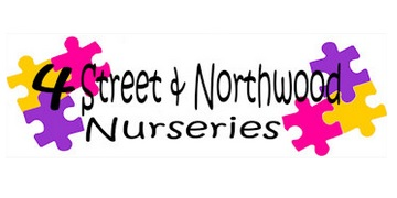 4 Street and Northwood Nurseries logo