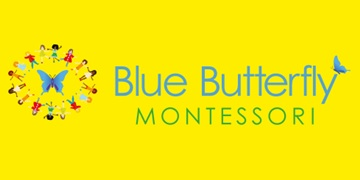 Blue Butterfly Montessori logo