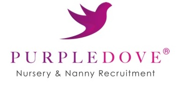 Purple Dove Childcare Recruitment logo